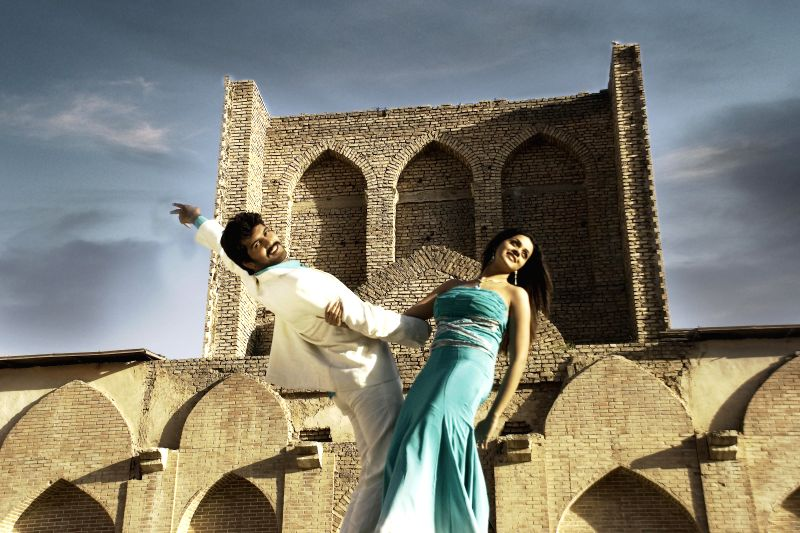 Stills from upcoming Telugu film `Margam`.