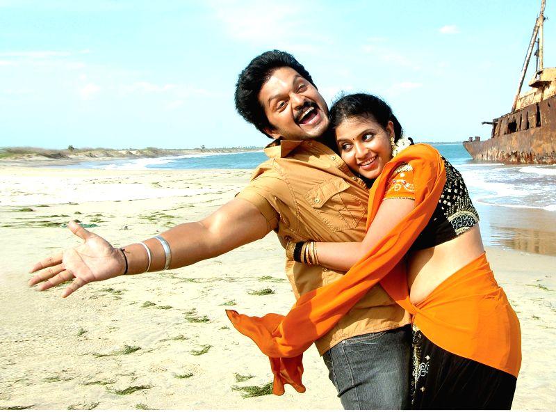 Stills of film Simhadripuram.
