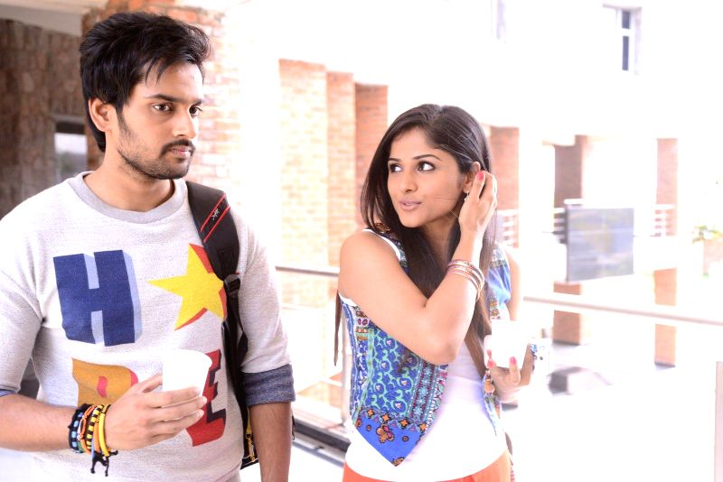 Stills of telugu film Chakkiligintha.