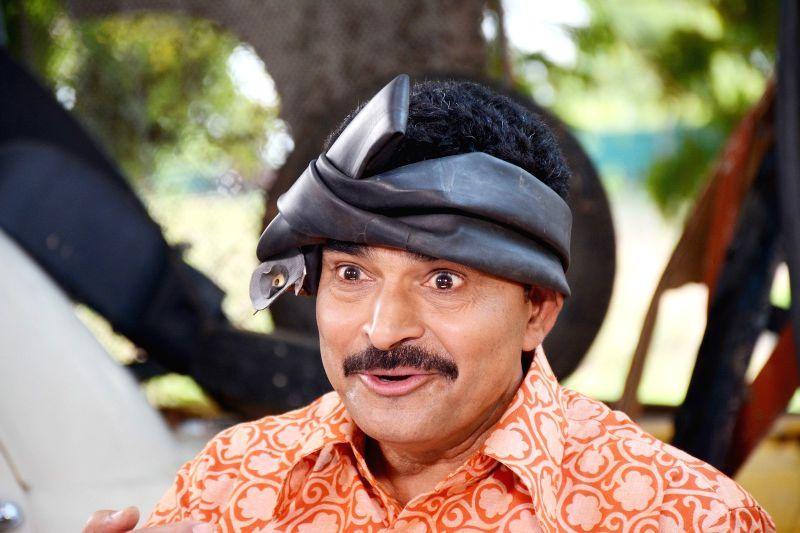 Stills of Telugu movie Father.