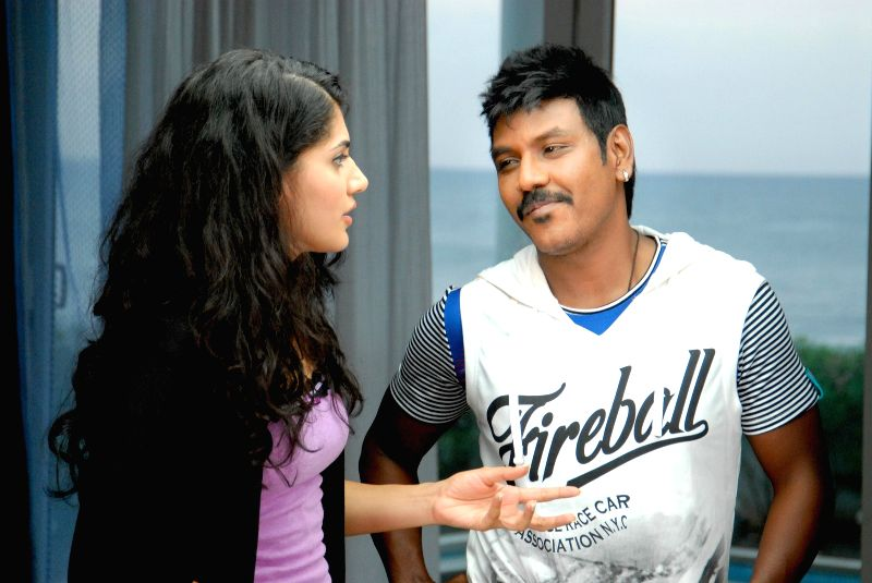 Stills of Telugu movie Ganga.