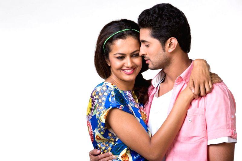Stills of Telugu movie Yavvanam Oka Fantasy in Hyderabad on 12 April, 2015.