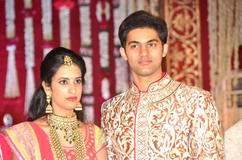 Subbarami Reddy`s grand Son Rajiv`s marriage ceremony.