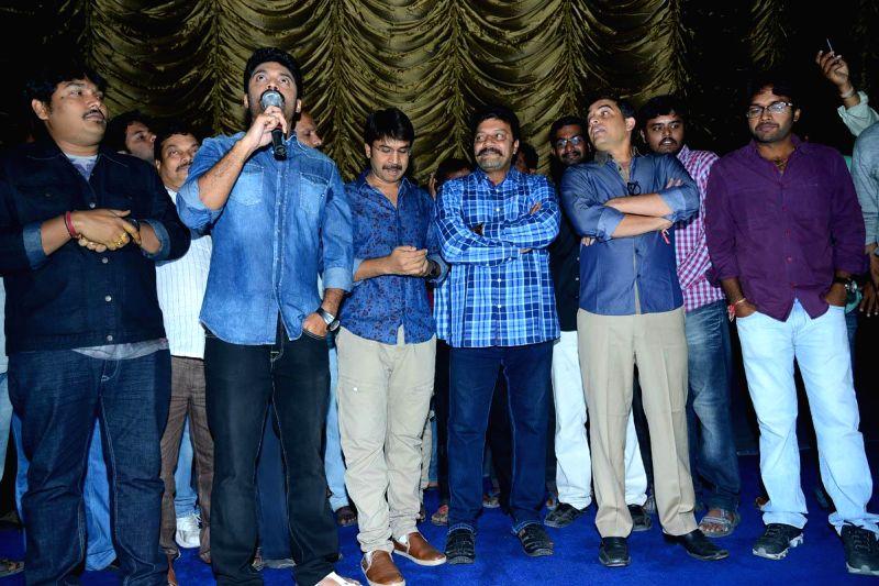 Success bash of film Patas in Hyderabad.