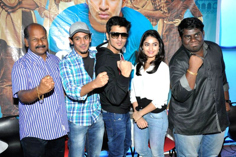 Surya V/s Surya Success meet held today (09th Mar) morning in Hyderabad.