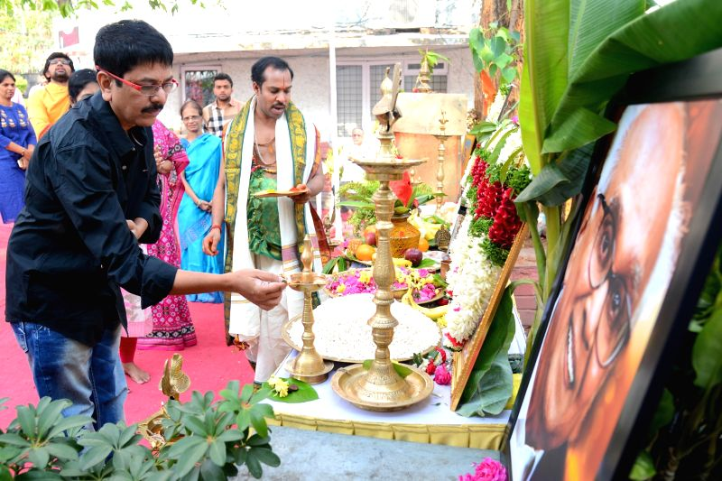 Sushanths launched new film at Annapoorna Studios on Ugadi festival day(21st Mar) .