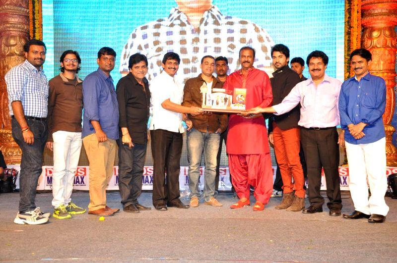 SV Krishna Reddy Directed Yamalee2 film audio platinum  disc function held at JRC Convention Centre in Hyderabad on November 21, 2014. - Reddy Directed Yamalee