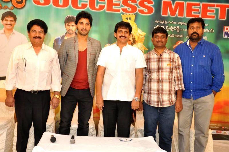 SV Krishna Reddy directed Yamaleela 2 film success meet held at FNCC in Hyderabad  on 30th November, 2014 - Reddy