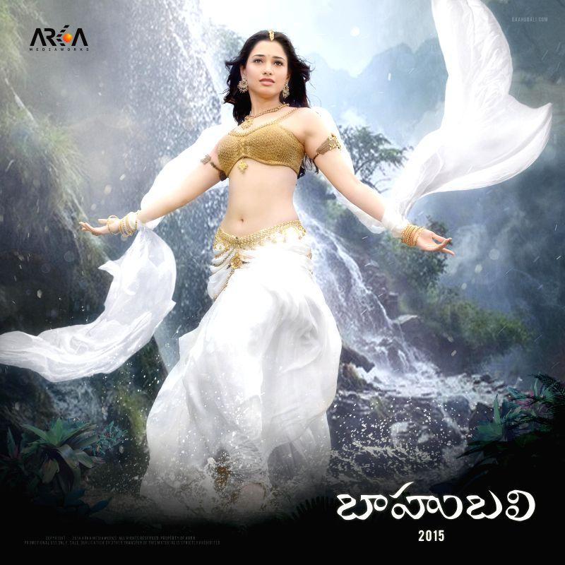 Tamannah as Avantika in `Baahubali`.