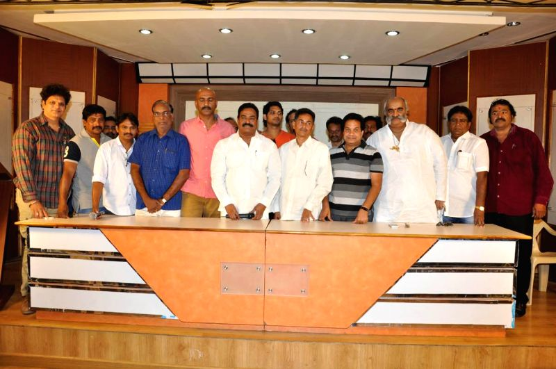 *Telangana Movie Chamber Association Press meet held today (20th March) morning at Hyderabad*.
