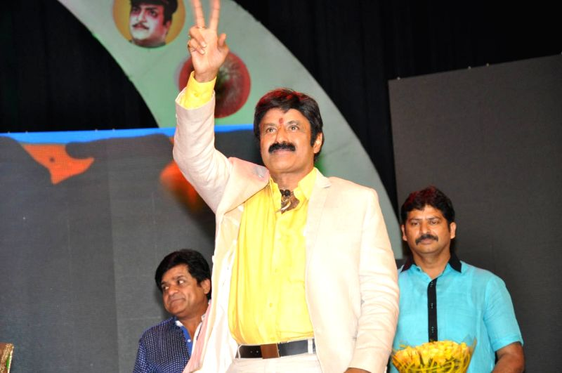 Telegu movie Lion audio launch held at  Shilpa Kala Vedkika in Hyderabad  on 9th April 2015.