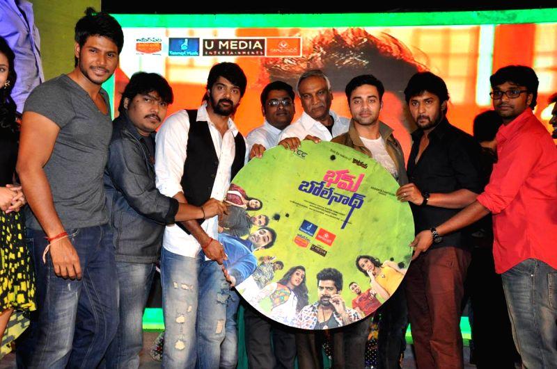 Telugu film Bham Bhole audio launch held at Taj Deccan Hotel in Hyderabad, on Dec 5, 2014.