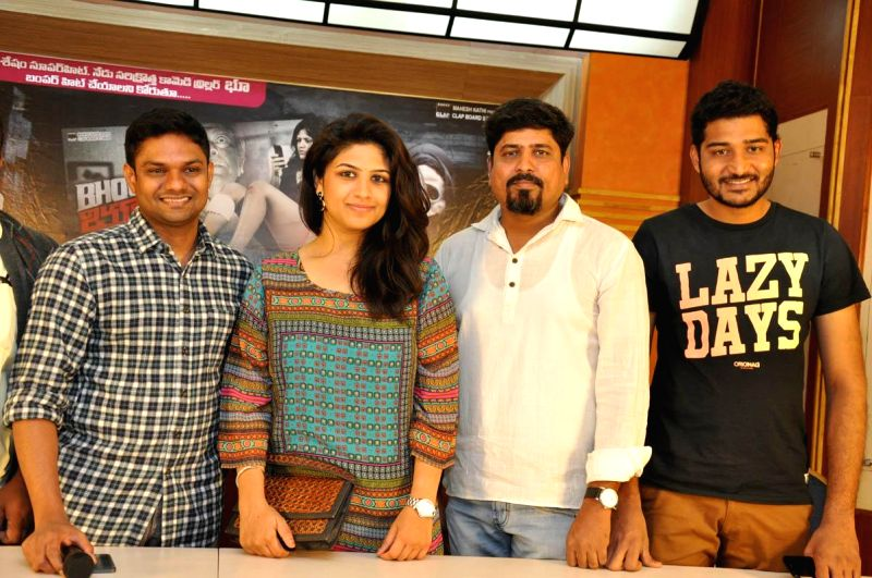 Telugu film Bhoo released on 28th Nov and running successfully in this connection producer arranged success meet at Film Chamber in Hyderabad.