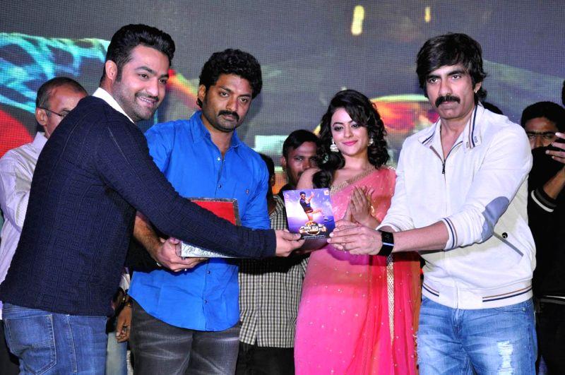 Telugu film Kalyan Ram's  Patas audio launch at Park Hyatt Hotel in Hyderabad  on Jan 01, 2015