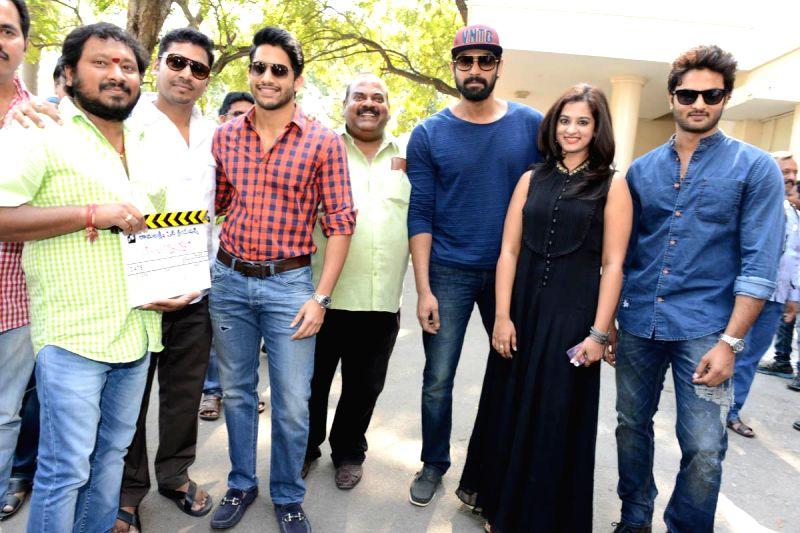 Telugu film Krishnamma Kalipindi Iddarini press meet in Hyderabad in 8th Jan 2015