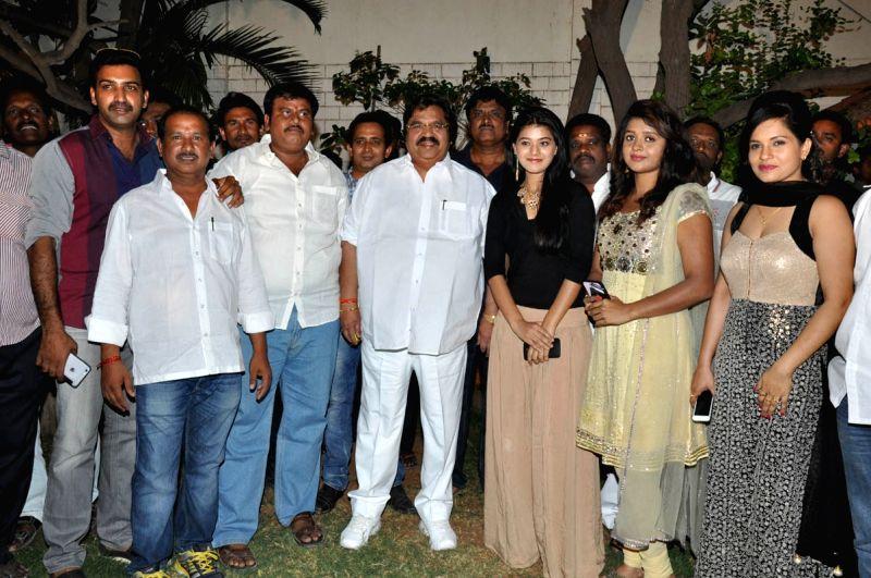 Telugu movie Kaakateeyudu teaser launch held in Hyderabad.