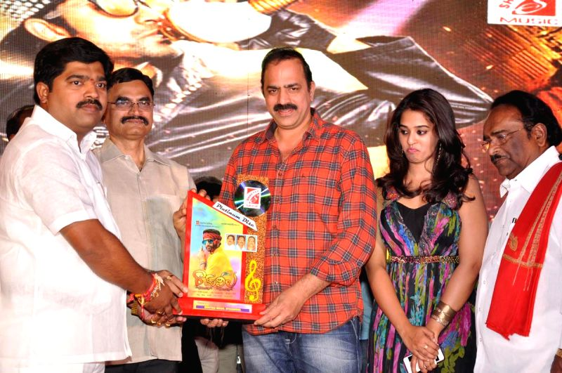 Telugu movie Ram Leela success meet in Hyderabad on Feb 22, 2015.