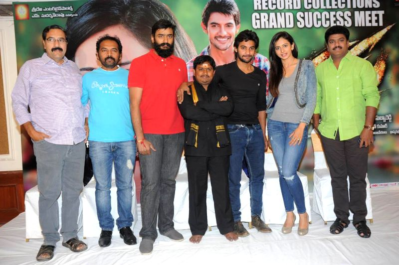 Telugu movie Rough Success meet held in Hyderabad