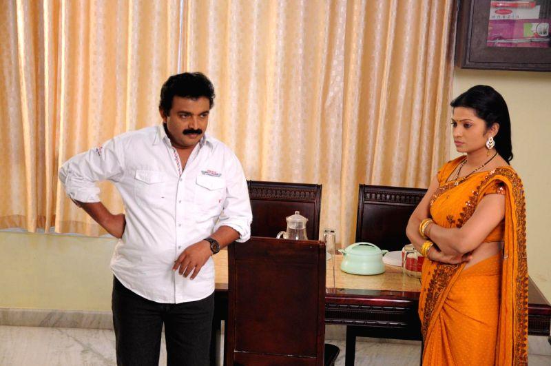 Telugu movie Sita Sreeram stills, Main cast ; Raveender Aadepu, Sweta Sen, Selvaraj, Sivakrishna, Harshid