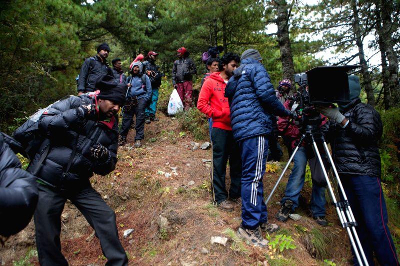 Telugu movie Yevade Subramanyam still.