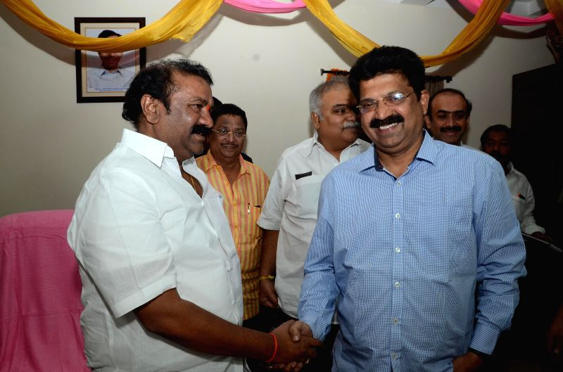 Tollywood Celebrities meet Telugu Cinematography Minister Talasani Srinivas Yadav