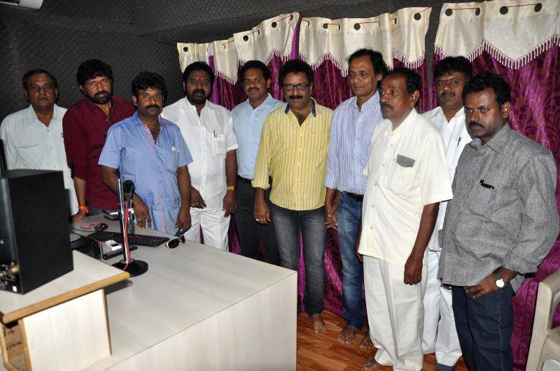 Veta Kodavallu  film songs recording started at Amoolya Recording Theatre, on Nov 24, 2014.