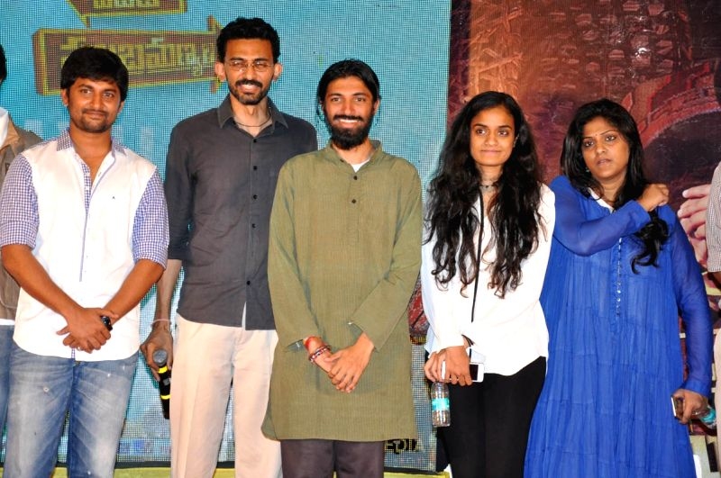 Yevade Subramanyam Success meet held at Hyderabad on Thursday (26th March) evening.