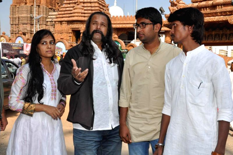Yuva Katha Opening held near Jagannath Temple in Hyderabad, on Dec 18, 2014.