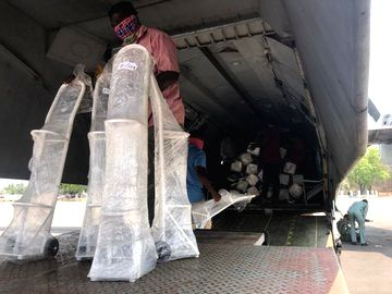 IAF roped in to supply oxygen cylinders, medicines to NCR