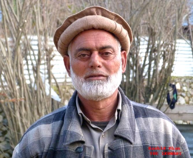 Ikhwan commander Rashid Billa who was gunned down allegedly by militants in Hajin of Jammu and Kashmir's Bandipora district on April 16, 2017.