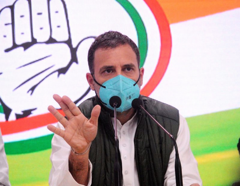 Image of India built by Cong being destroyed by PM: Rahul