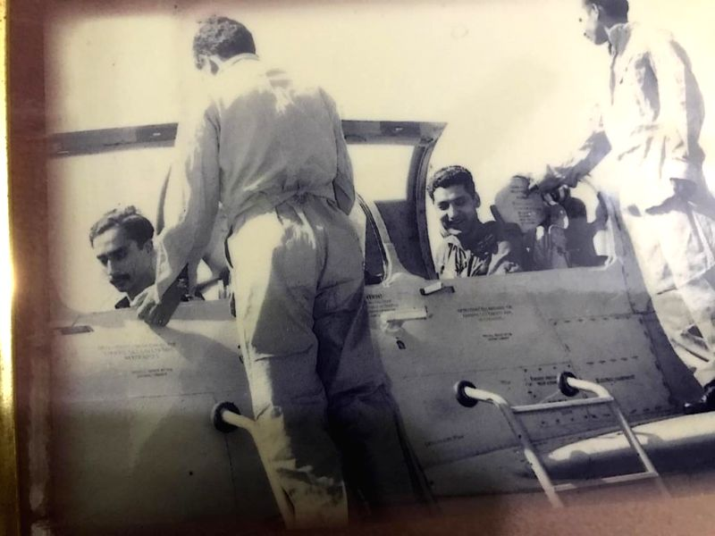 In the cockpit of a MiG-21 as squadron commander