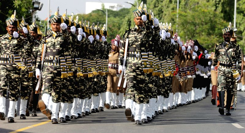 Independence Day rehearsal at Red Fort in Chennai