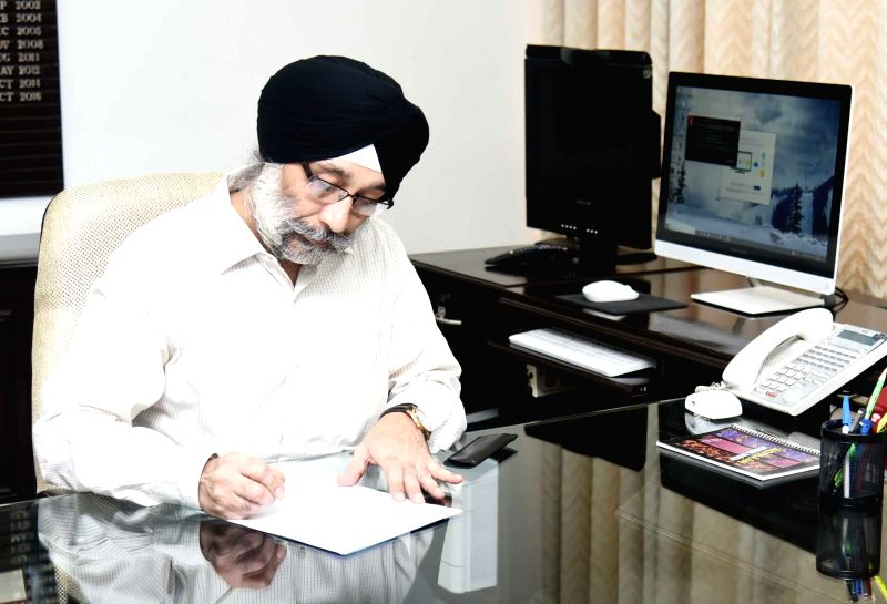 Inder jit Singh takes charge as Secretary, Ministry of Coal, in New Delhi on June 14, 2018.