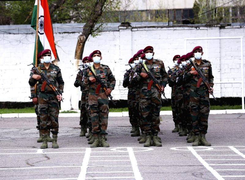 India, Kyrgyzstan special forces start two-week counter-terror drills.