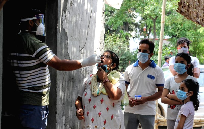 India's daily Covid tally rises by 4.03L cases, 4,092 deaths