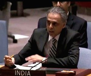 India's Permanent Representative Syed Akbaruddin