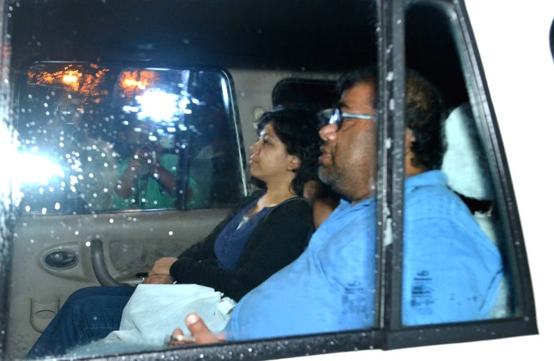 Indian aid worker Judith D'Souza, who has been rescued after being abducted in Afghanistan arrives at NSCBI Airport in Kolkata on July 24, 2016.