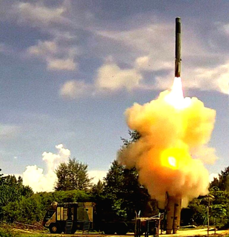 Indian Army test fired advanced BrahMos Block III land attack cruise missile system in the Andaman and Nicobar Islands on the Wednesday for the second consecutive day.