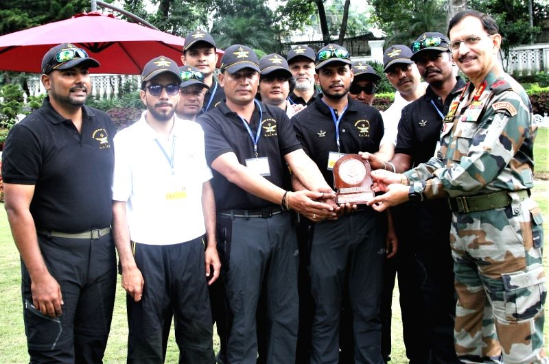 Indian army veterans create world record, largest team with disabilities scales Siachen Glacier.