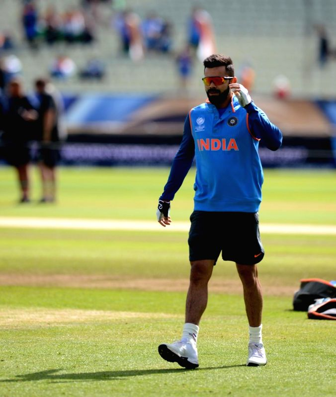 Indian captain Virat Kohli ahead of the ICC Champions Trophy, Group B match between India and Pakistan at Edgbaston, Birmingham, UK on June 4, 2017. - Virat Kohli