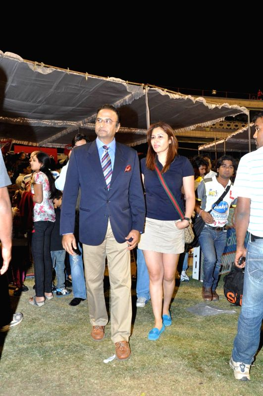 CCL match between Telugu Warriors vs Mumbai - Charu Sharma