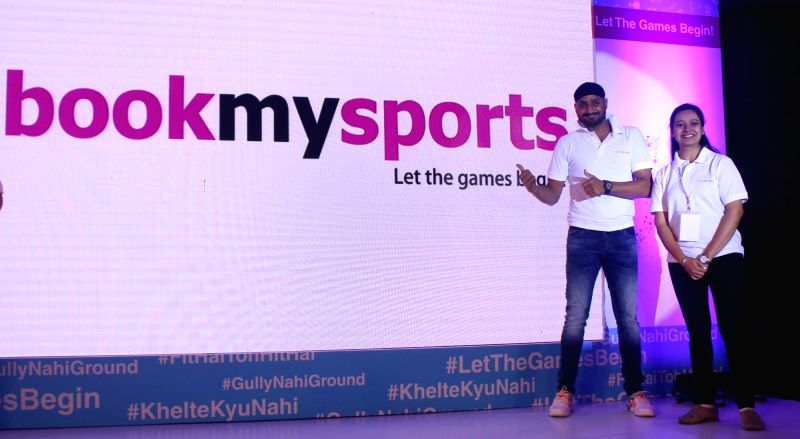 Indian cricketer Harbhajan Singh during a programme in Delhi on Dec. 5, 2015.