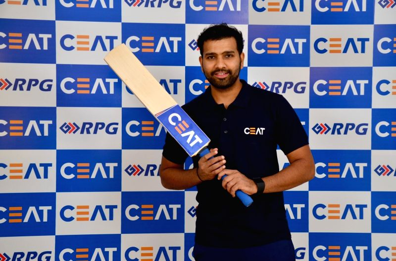 Indian cricketer Rohit Sharma during a CEAT programme in New Delhi on Nov. 13, 2015. - Rohit Sharma