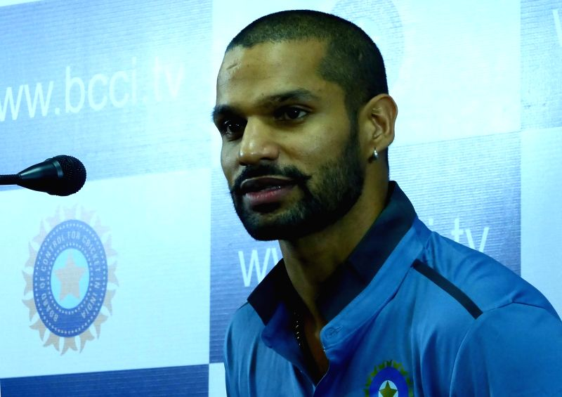 Indian cricketer Shikhar Dhawan. (Photo: IANS)