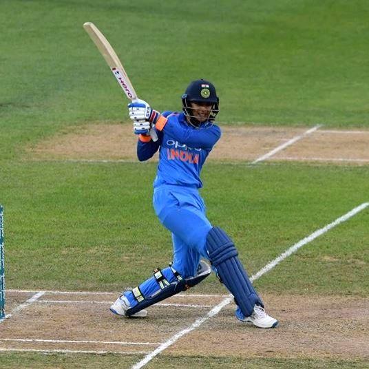 Indian cricketer Smriti Mandhana.