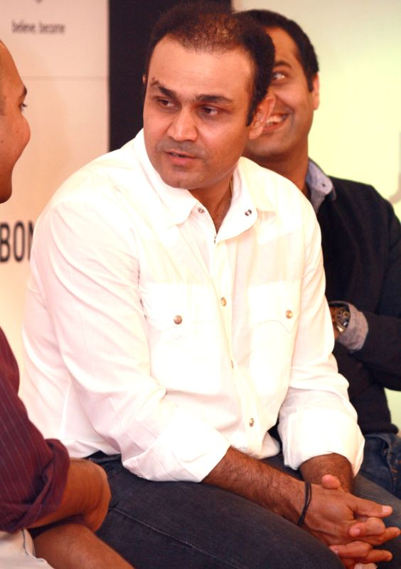 Virender Sehwag launches V319