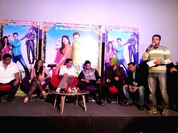 Chandigarh : Special screening of film 'Bhaji in Problem'