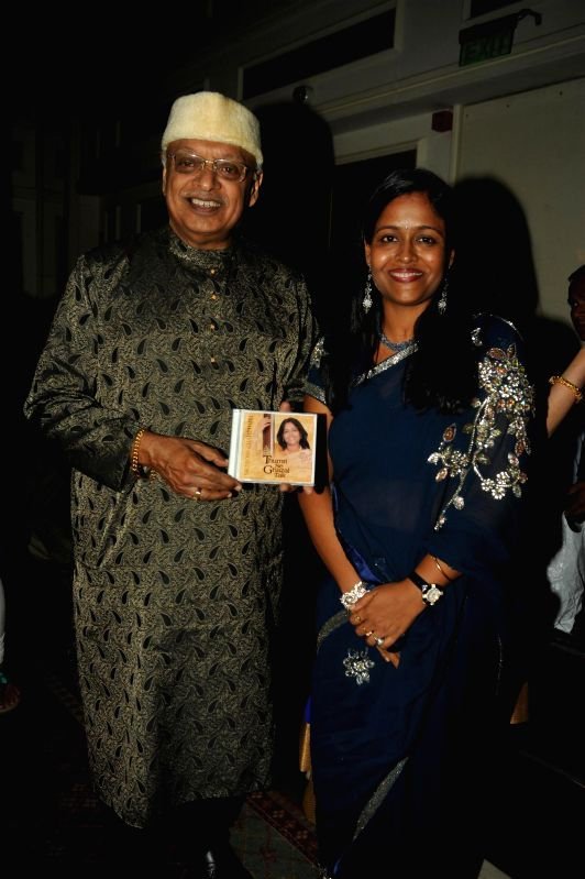 Indian filmmaker Kiran Shantaram during the Khazana, A Festival of Ghazals organized in aid of Cancer Patients Aid Association and Parents Association Thalassemic Unit Trust in Mumbai, on August 1, ..