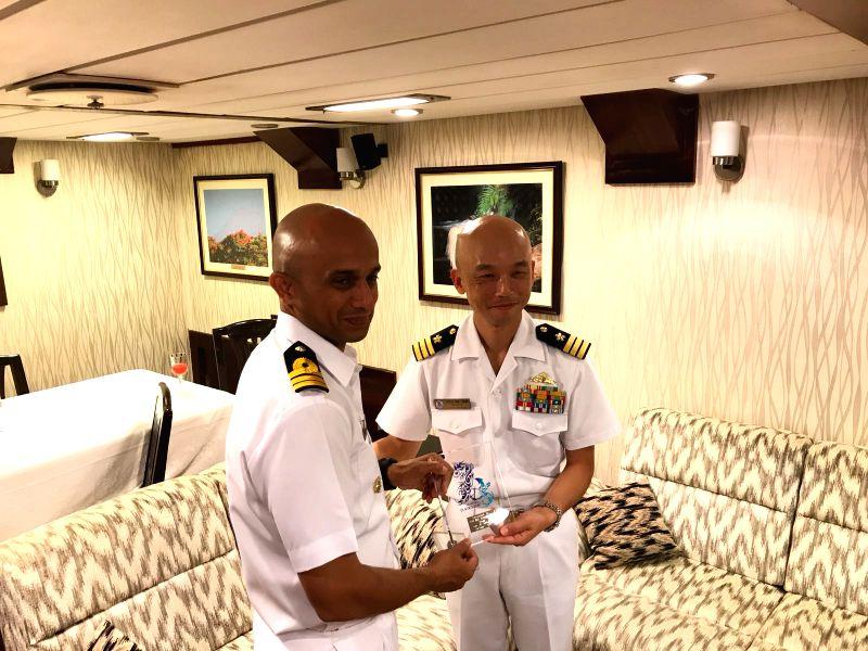 Indian Naval Ships visit Japan ()